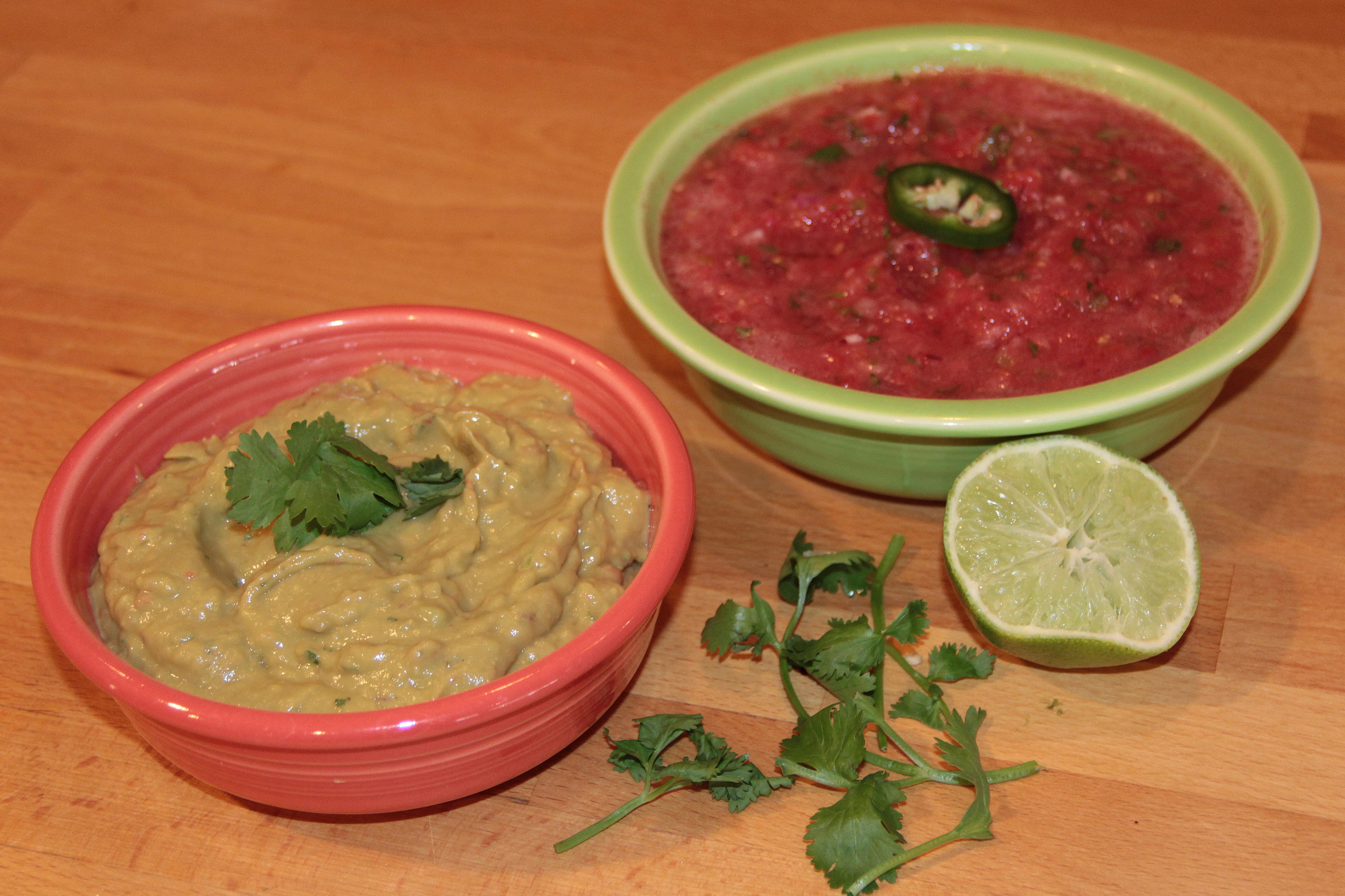 how to cut cilantro for guacamole