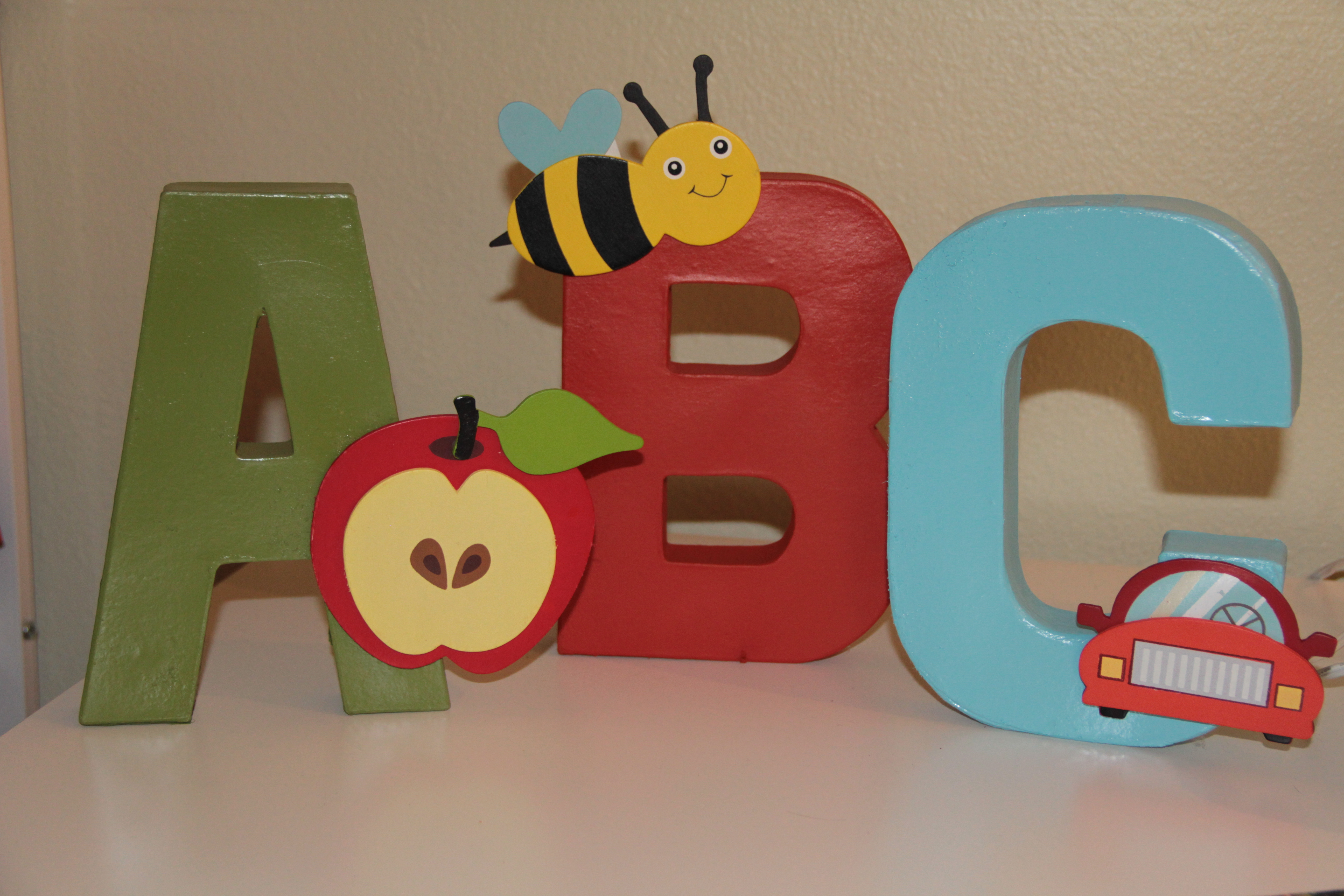 Alphabet Themed Baby Shower