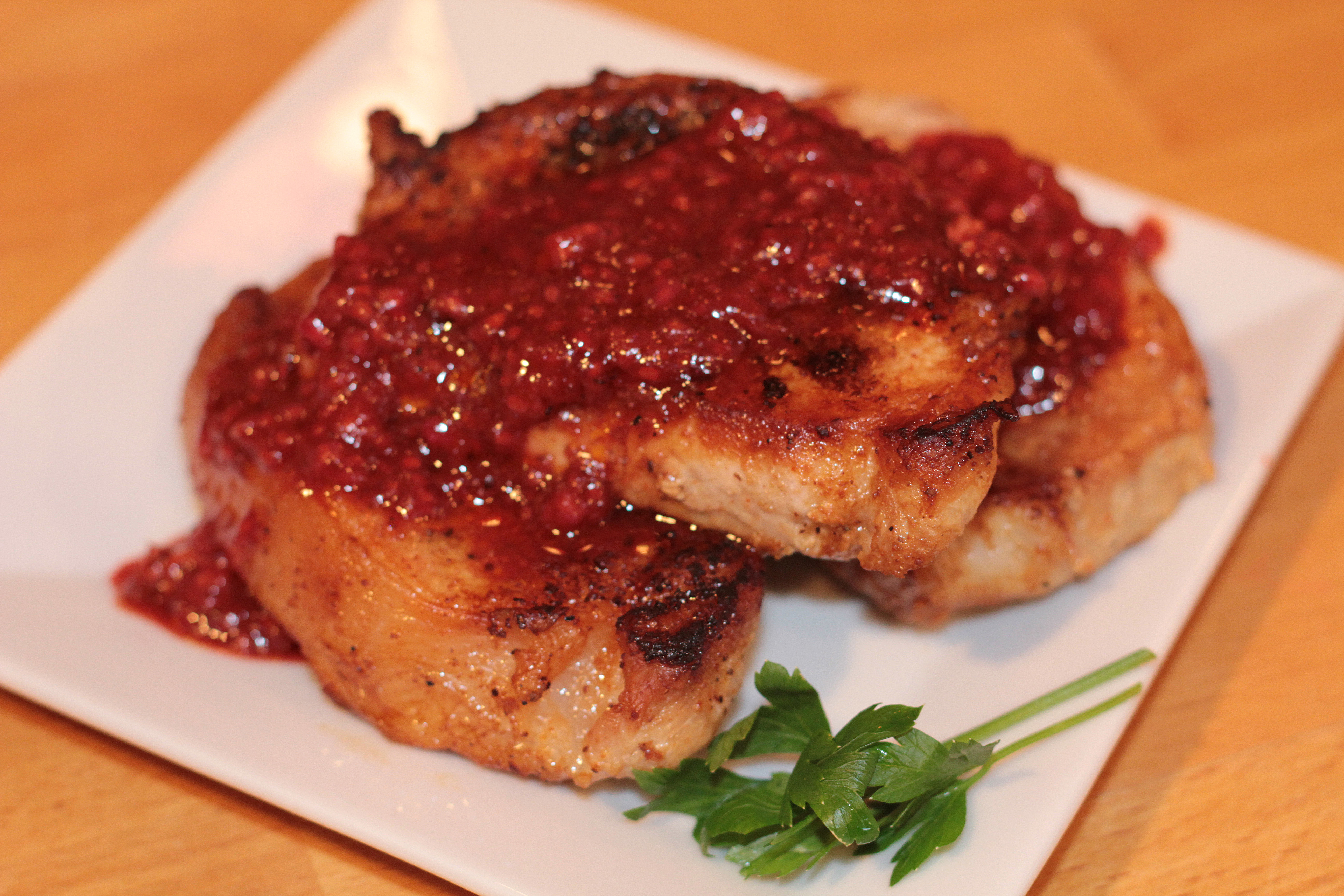 Pork Chops With Raspberry Sauce Recipes — Dishmaps