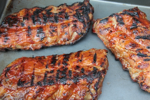 Barbecued Orange and Jalapeno Ribs
