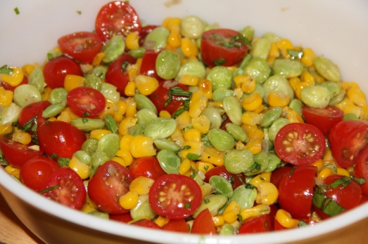 Roasted Succotash Salad