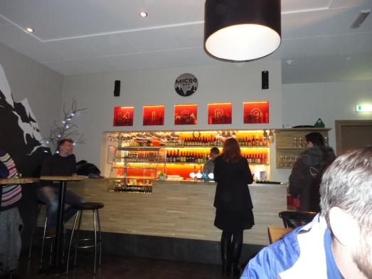 Micro Bar, Reykjavik, Iceland