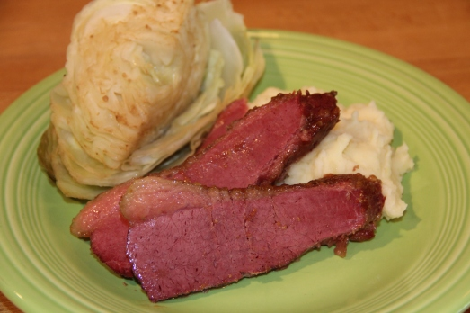 Best Corned Beef with Mustard and Brown Sugar Glaze