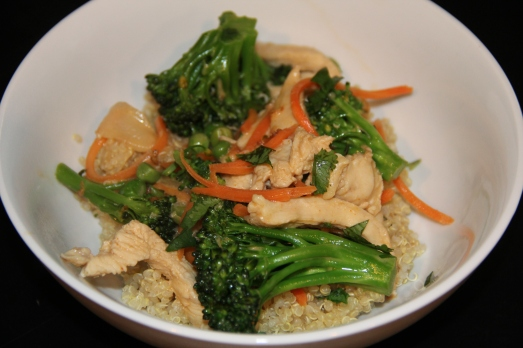 Red Curry and Chicken Quinoa