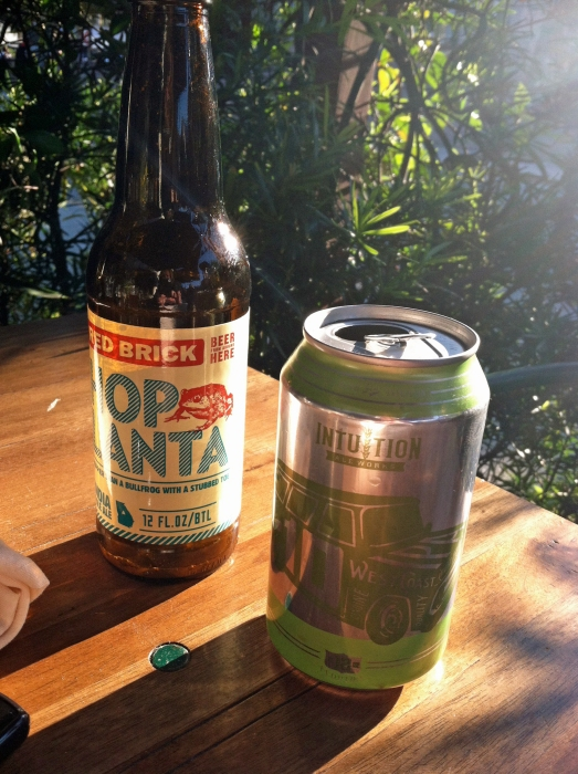 Red Brick's  Hoplanta and Intuition Ale Works  I-10 IPA