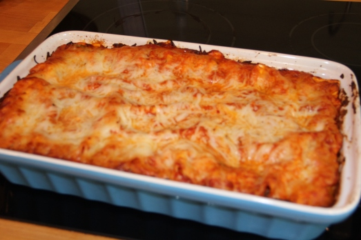 Lasagna Supreme: Just Like the Pizza but Better