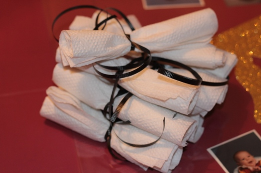 Graduation diploma napkins