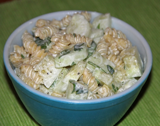 Cool as a Cucumber Pasta Salad