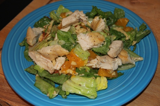 Key West Salad with Mango Mustard Chicken