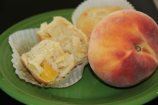 Peach and Cream Muffins