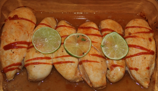 Spicy Lime and Honey Chicken