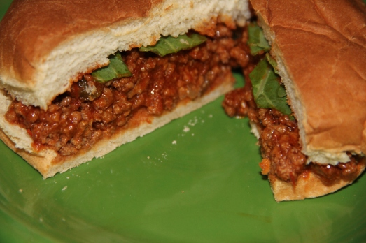 Homemade Spicy Sloppy Joes