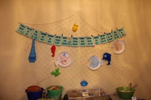 Pool Party 1st Birthday: Fish Craft