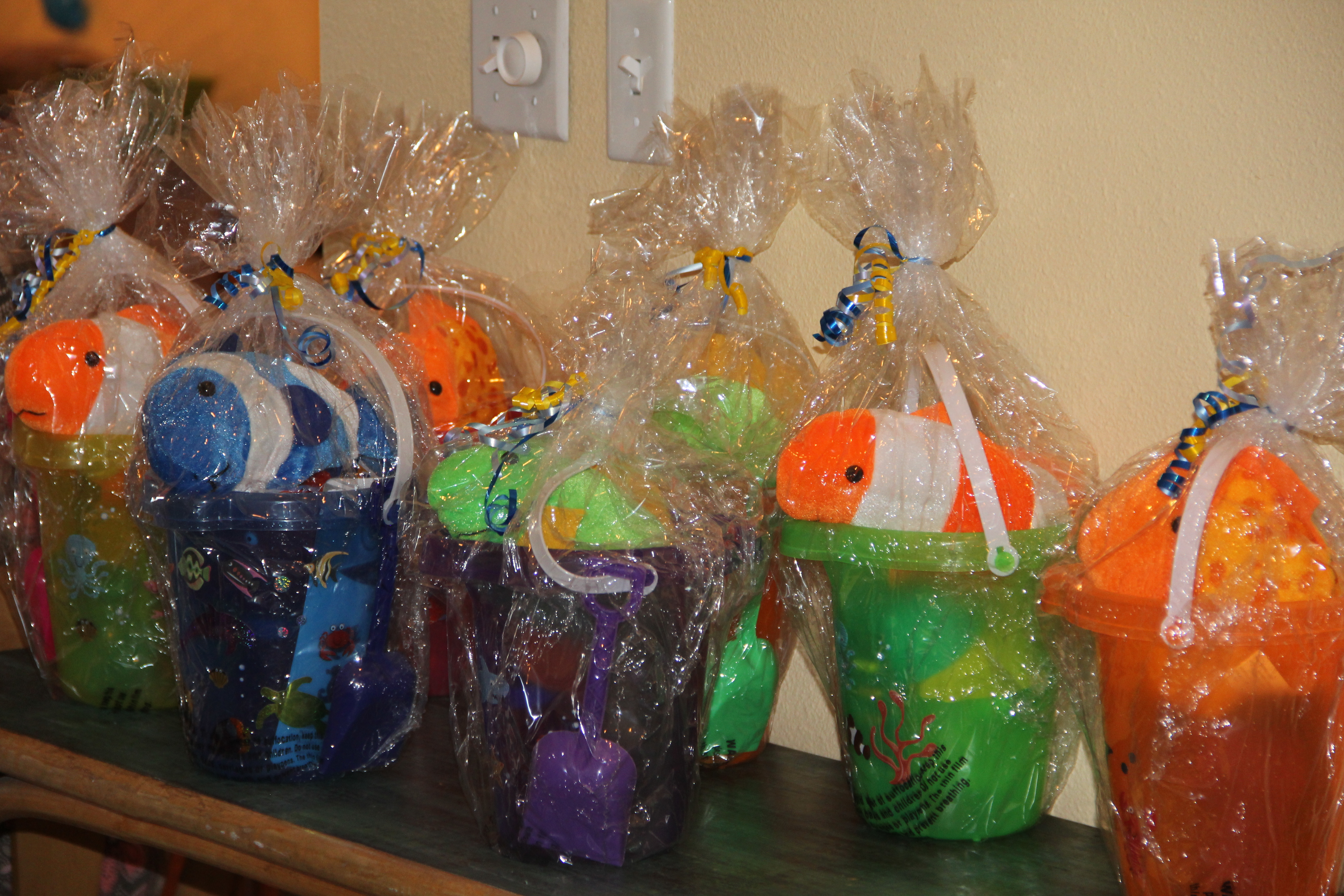 Pool Party 1st Birthday Favors