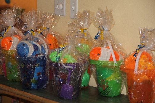 Pool Party 1st Birthday: Party Favors
