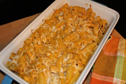 Baked Pumpkin and Sage Ziti