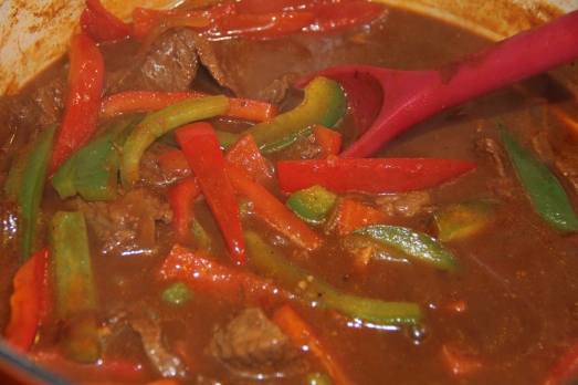 Hungarian Beef and Pepper Stew