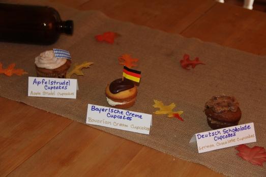 Oktoberfest Party: Cupcakes