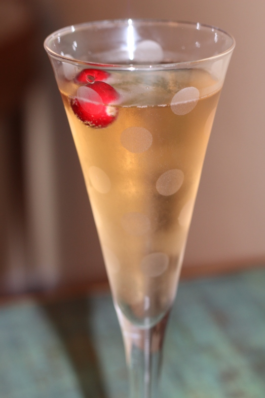 Cranberry Ginger Royale