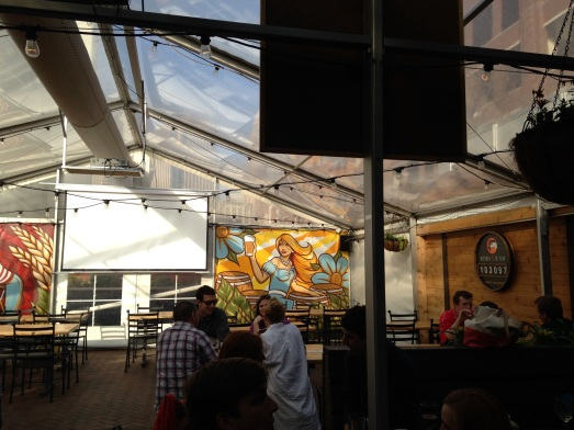 A Weekend in Minneapolis: Fun, food and beer in less than 48 hours. Butcher and the Boar Beer Garden