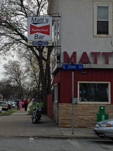 A Weekend in Minneapolis: Fun, food and beer in less than 48 hours: Matt's Bar