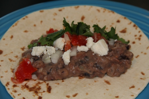 Healthy Refried Pinto and Black Beans