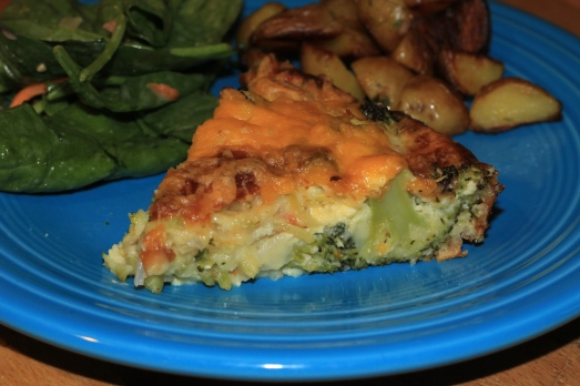 Easy Broccoli Cheese Pie